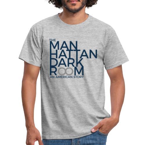 THE MANHATTAN DARKROOM BLUE GRAY - Men's T-Shirt