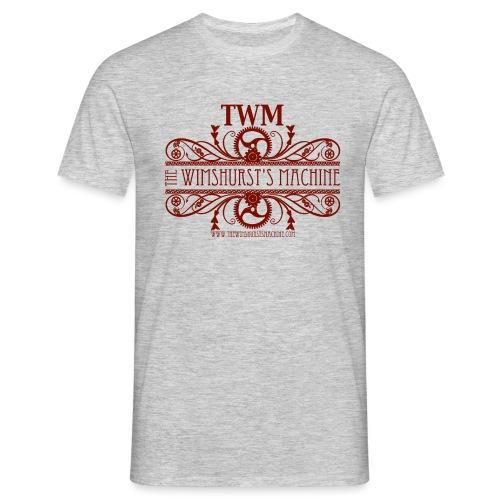 TWM nuova grafica 2016 mattone png - Maglietta da uomo
