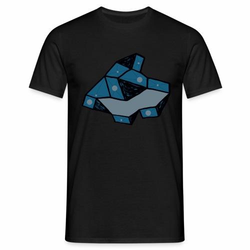 dot rock - Mannen T-shirt
