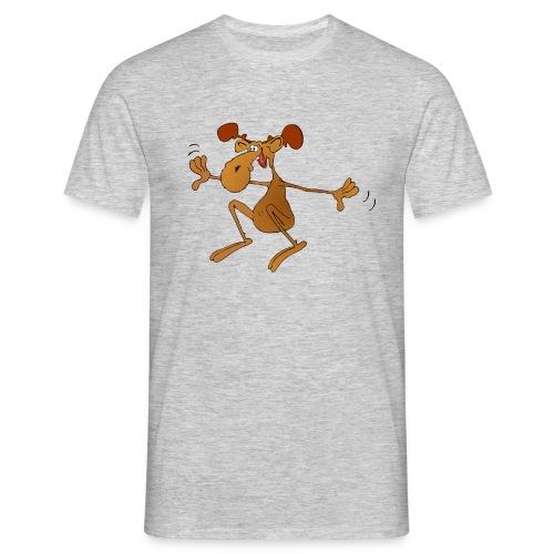 elch huepft - Männer T-Shirt