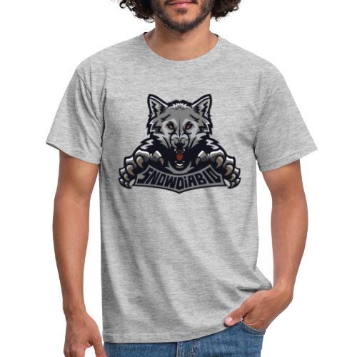 snowdiablo officiel logo - T-shirt Homme