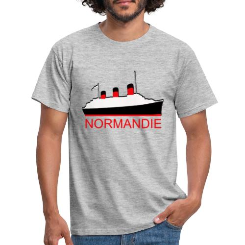 PAQUEBOT TRANSATLANTIQUE LE NORMANDIE - T-shirt Homme