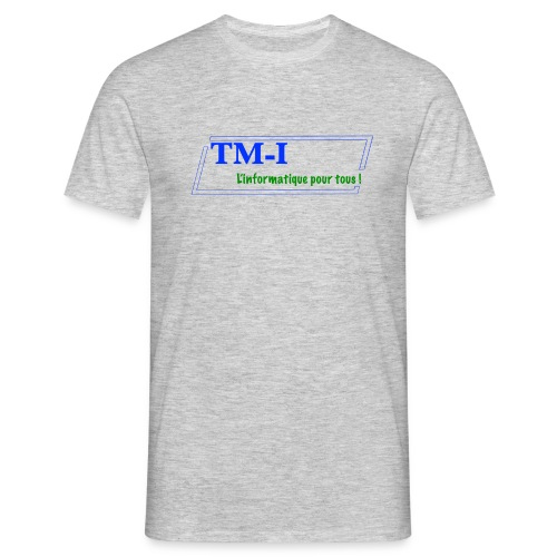 logo touletmarc.info + slogans - T-shirt Homme