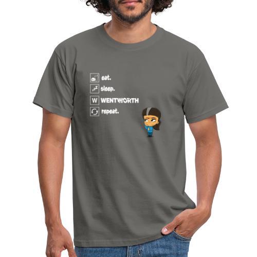 Eat. Sleep. WENTWORTH. Repeat. - Men's T-Shirt