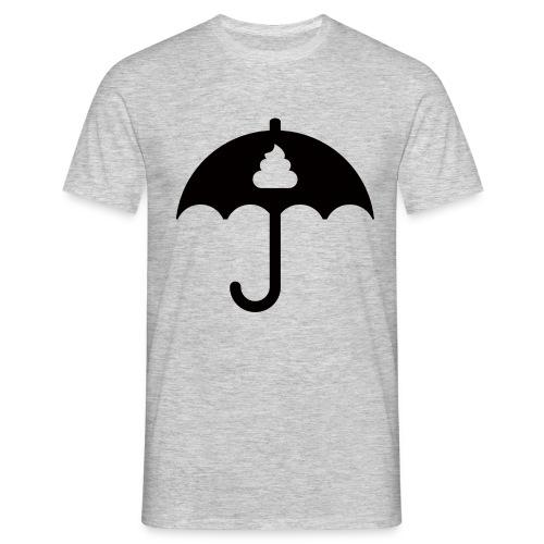 Shit icon Black png - Men's T-Shirt