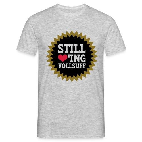 Vollsuff - Männer T-Shirt