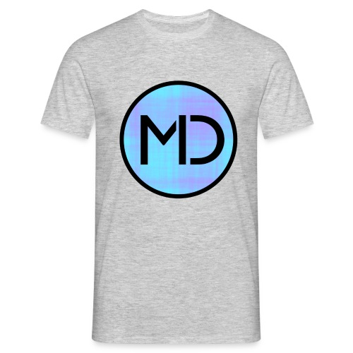 MD Blue Fibre Trans - Men's T-Shirt