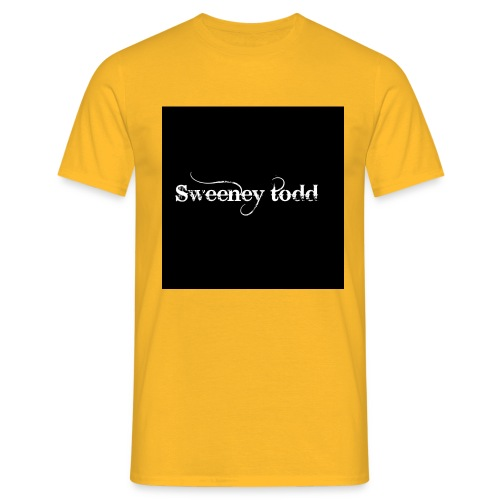 Sweney todd - Herre-T-shirt