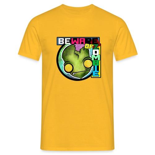 Beware of zombie - Camiseta hombre