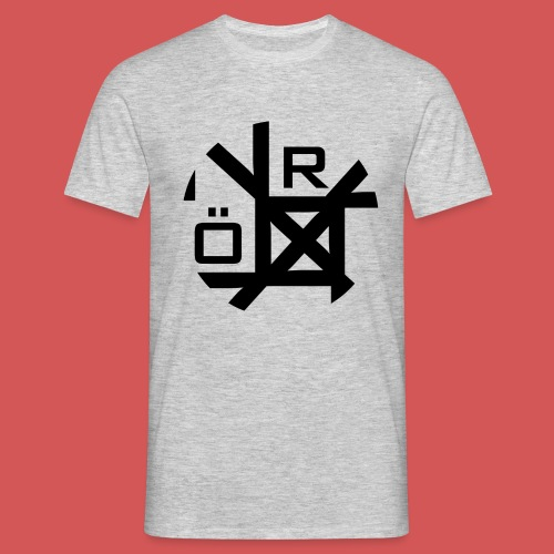 Nörthstat Group™ TecH | iCon - WHT.Knapsack - Men's T-Shirt