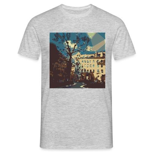 Abstrakt Budapest - Männer T-Shirt