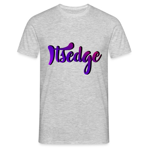 ItsEdge Signature Purple - Men's T-Shirt