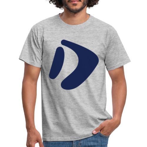 Logo D Blue DomesSport - Männer T-Shirt