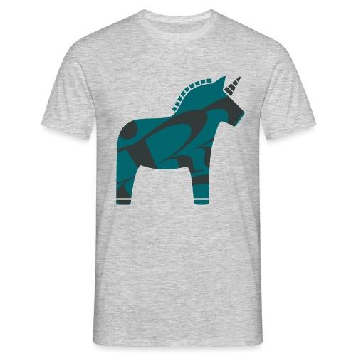 Swedish Unicorn - Männer T-Shirt