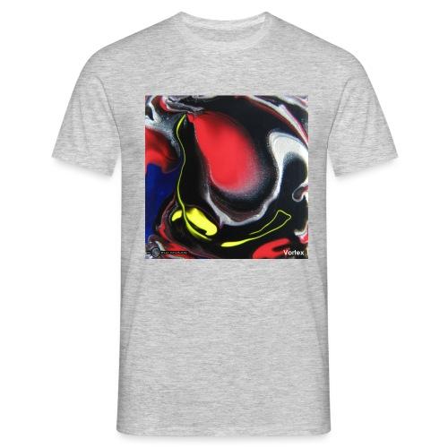 TIAN GREEN Mosaik DK007 - Vortex - Männer T-Shirt