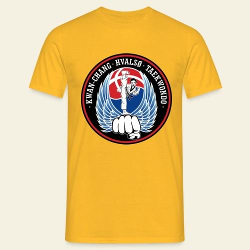 hvalsoetkd logo - Herre-T-shirt