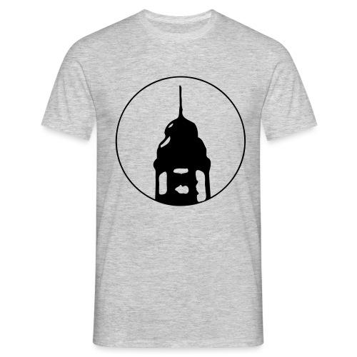 Neckarstadtblog Logo - Männer T-Shirt