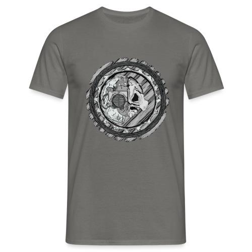 Predator from alien planet - Men's T-Shirt