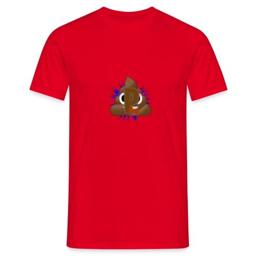 p0op Logo - Herre-T-shirt