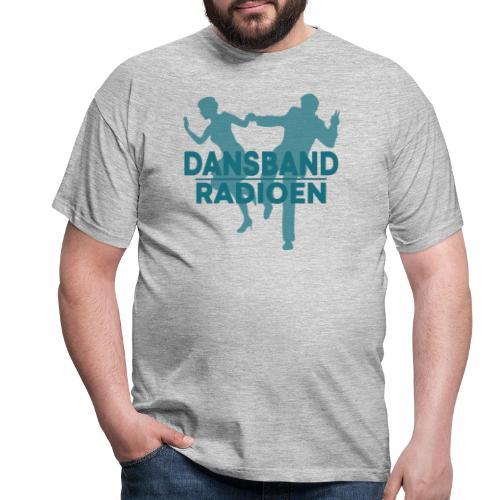 Grønn Logo - T-skjorte for menn