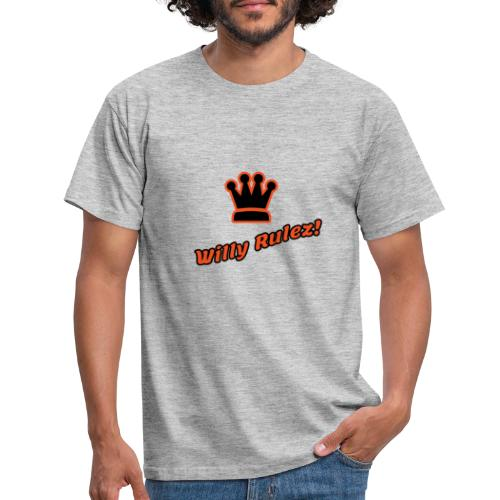 willy rulez koningsdag - Mannen T-shirt