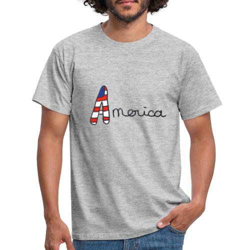 America - T-shirt Homme