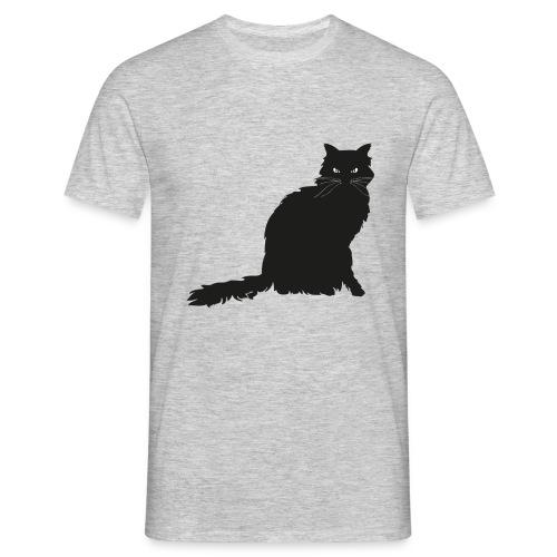 black cat - Männer T-Shirt