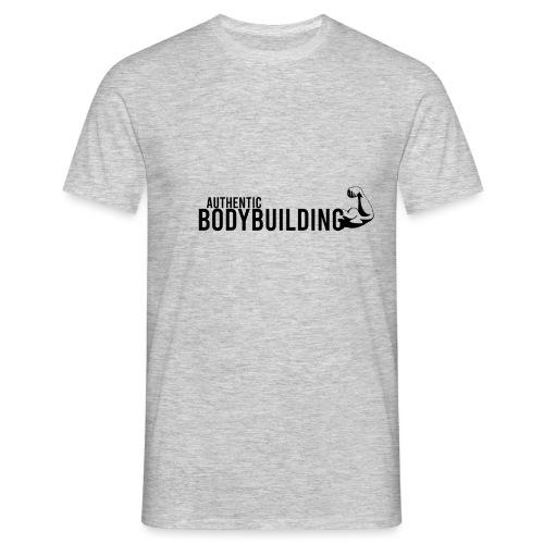 Authentic BODYBUILDING - Männer T-Shirt