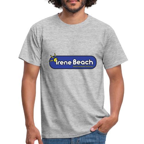 Irene Beach logo 1 - Mannen T-shirt
