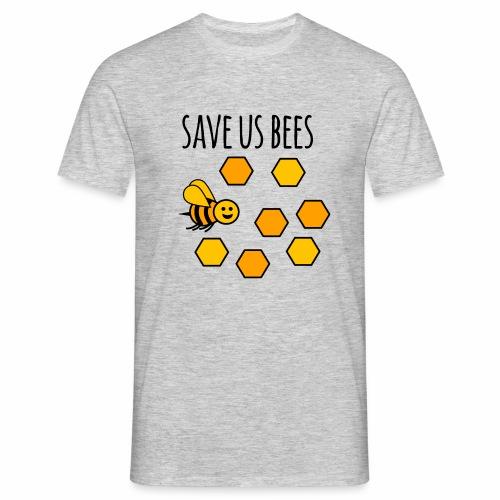 save us bees 2 - Men's T-Shirt