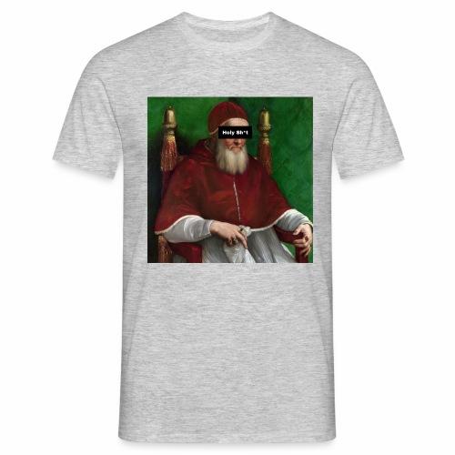 Pope holy sh*t - Maglietta da uomo