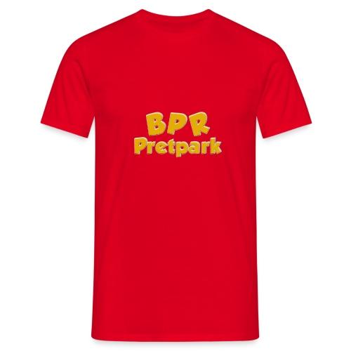 BPR Pretpark logo - Mannen T-shirt