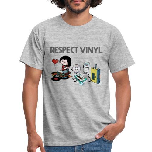 No Way • Respect Vinyl - Männer T-Shirt