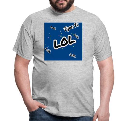 LOL BLAU - Männer T-Shirt