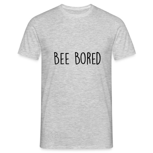 NAME LOGO BORED BEE - T-shirt Homme