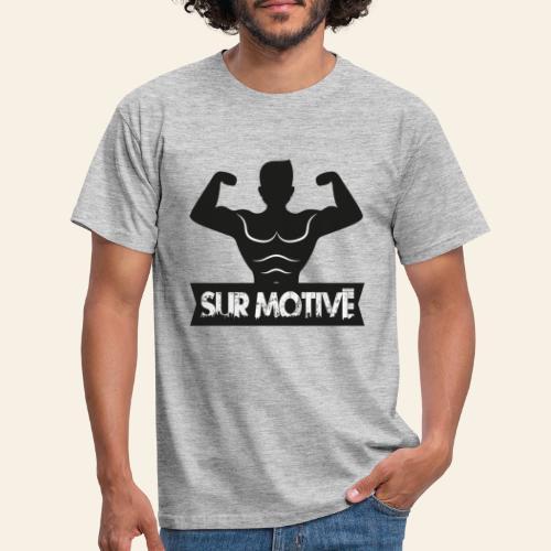 tshirt salle sport humour surmotive - T-shirt Homme