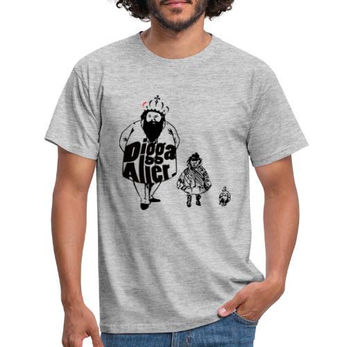 Die 3 lustigen Zwei. - Männer T-Shirt