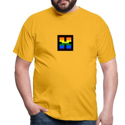 XRhodes Pride Logo 2019 - Men's T-Shirt