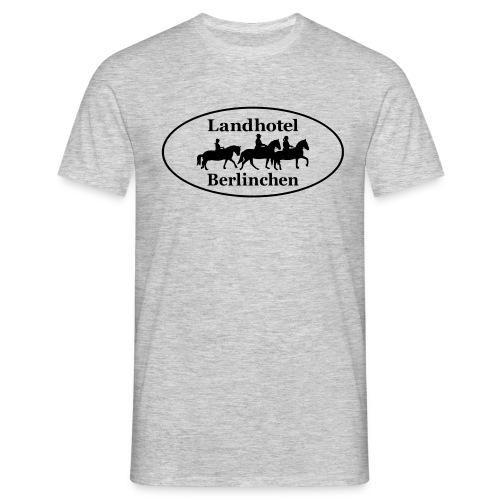 Landhotel Logo - Männer T-Shirt