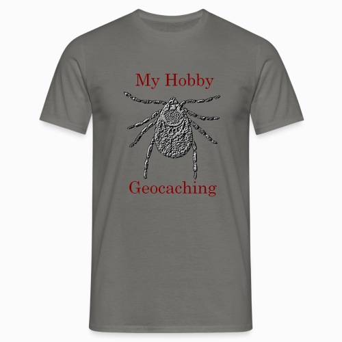 My Hobby Geocaching - Männer T-Shirt