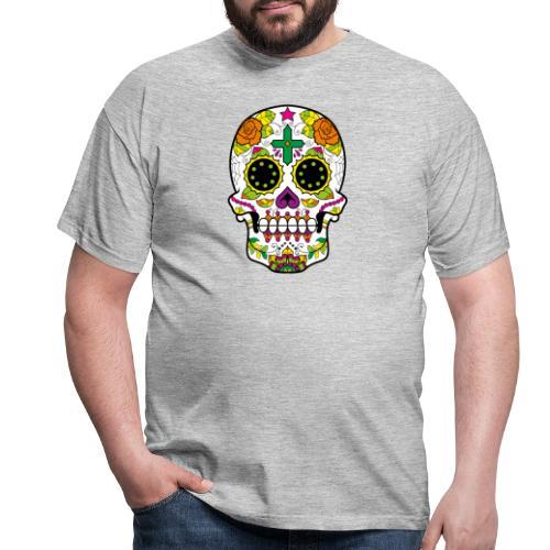 skull4 - Maglietta da uomo