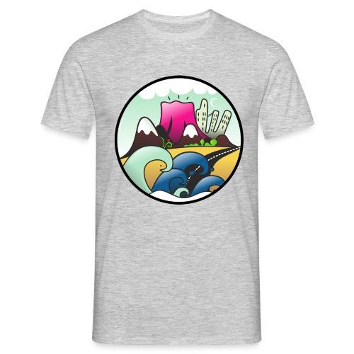 VOLCAN - Maglietta da uomo