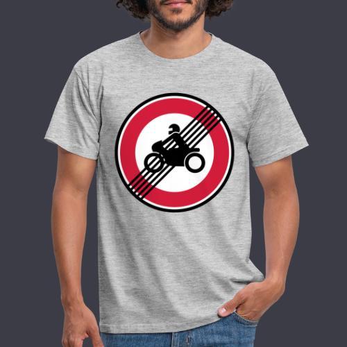 Keine Streckensperrungen für Motorräder! - Männer T-Shirt