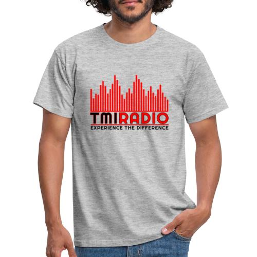 NEW TMI LOGO RED AND BLACK 2000 - Men's T-Shirt