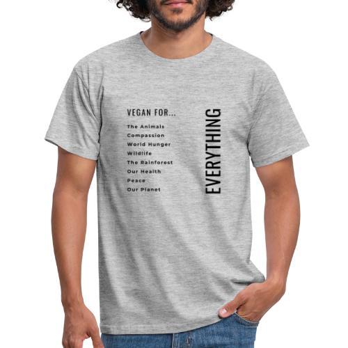 Vegano/a por... - Camiseta hombre