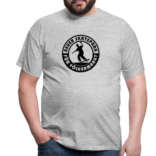 Neuer Skatepark für Völkermarkt Logo - Männer T-Shirt