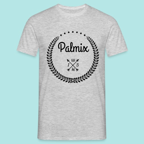 Palmix_wish camiseta mangas color - Men's T-Shirt