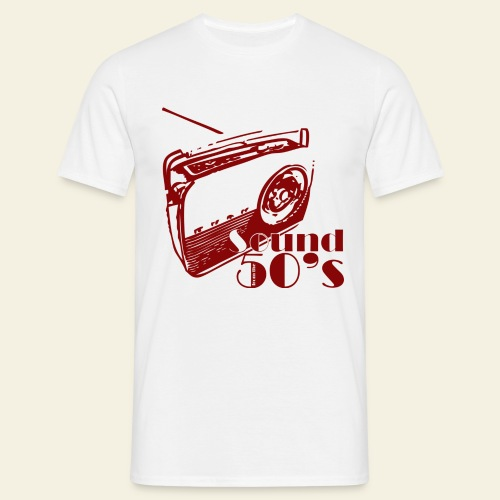 50s radio - Herre-T-shirt