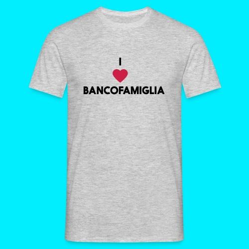 BANCOFAMIGLIA CuoreNera - Maglietta da uomo