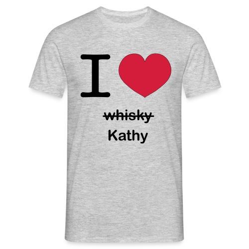 ilovekathy - Mannen T-shirt